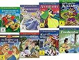 8 Kinderfilm Klassiker für die Kleinen ( Die schönsten Märchen  - Der gestiefelte Kater - Der Rattenfänger von Hameln - Aschenputtel - Pocahontas - ... das Biest - Hänsel und Gretel - Anastasia ) [8 DVDs]