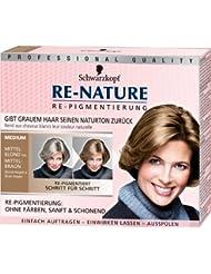 Schwarzkopf Re-Nature Re-Pigmentierung für Frauen, medium, 3er Pack (3 x 1 Stück)