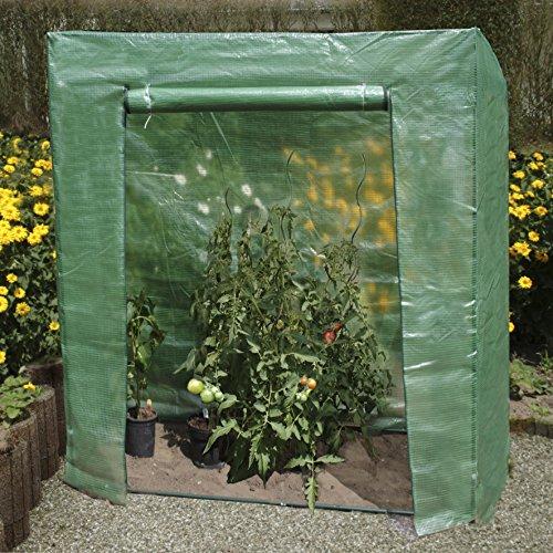 Tomatenhaus L 195 x B 60 x H 215-195 cm Greenhouse, Foliengewächshaus, Tomatenzelt, Anzucht