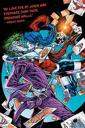 GB eye LTD, DC Comics, Harley Kiss, Maxi Poster, 61 x 91,5 cm