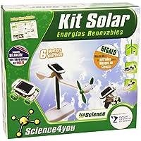 Science4You Kit solare 6in 1