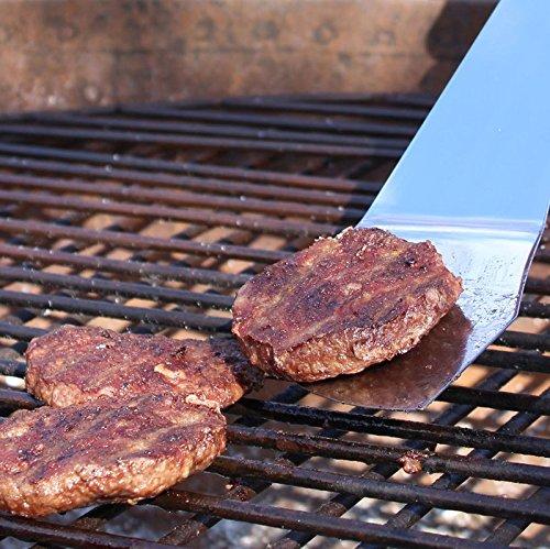 61fdi88Hr0L - Machete Grillbesteck mit Flaschenöffner - Grillmachete Grillzubehör BBQ Edelstahl