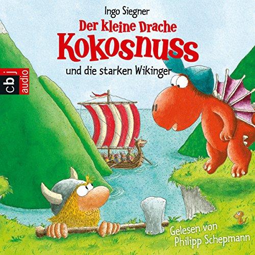 Buchseite und Rezensionen zu 'Der kleine Drache Kokosnuss und die starken Wikinger' von Ingo Siegner