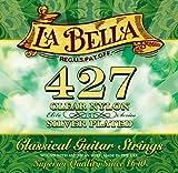 Labella L427 Elite Série Jeu de Cordes pour Guitare Classique Medium Tension