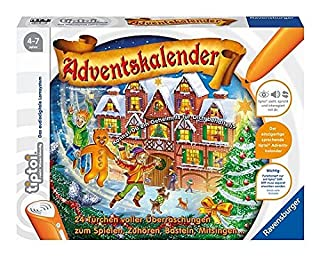 Ravensburger 00562 - Tiptoi Adventskalender, ohne Stift (B00BGJ5DZQ) | Amazon price tracker / tracking, Amazon price history charts, Amazon price watches, Amazon price drop alerts