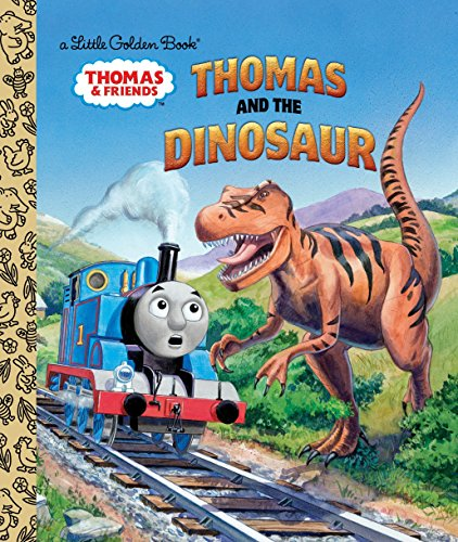 Thomas and the Dinosaur (Thomas & Friends) (Little Golden Book: Thomas & Friends)