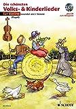 Die schönsten Volks- & Kinderlieder, Notenausg. m. Play-Along-CDs, Für Violine, m. Audio-CD - Hans Magolt, Marianne Magolt