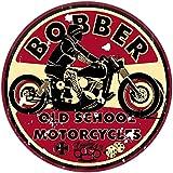 Finest-Folia Retro Vintage Sticker Old School Ace Cult Rockabilly (#1 Bobber)