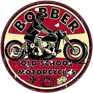 Finest Folia Retro Vintage Aufkleber Sticker Old School Ace Kult Rockabilly 1 Bobber Küche Haushalt