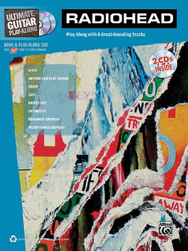 Radiohead - Ultimate Guitar Play-Along por Alfred Publishing