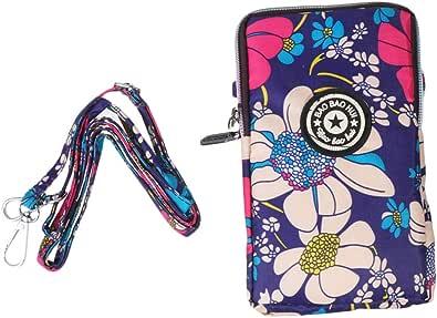Fenical 1pz cerniera portacellulare portacellulare collo appeso borse moda borsa cellulare per viaggio di shopping shopping
