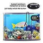 bedee Fish Tank Thermometer Aquarium Thermometer Water Thermometer Submersible Waterproof Digital LCD Aquarium… 14