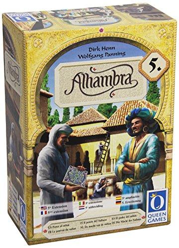 """Preisvergleich Produktbild QUEEN GAMES 4010350603475 """"Alhambra Die Macht des Sultans"""" Zeichenset"""
