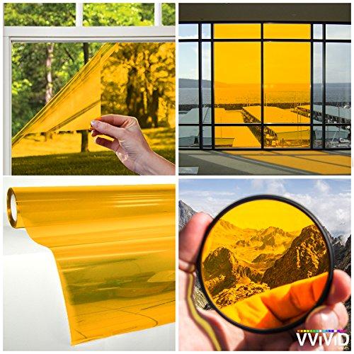 vvivid Transparente Bunte Vinyl getönte Fenster Blatt -