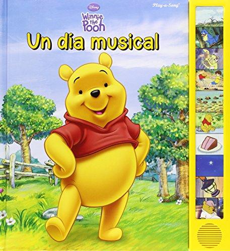 Winnie The Pooh - Libro Sonido, 10 Botones