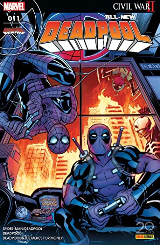 All-New Deadpool, N° 11, avril 2017 : L'araignée Gipsy