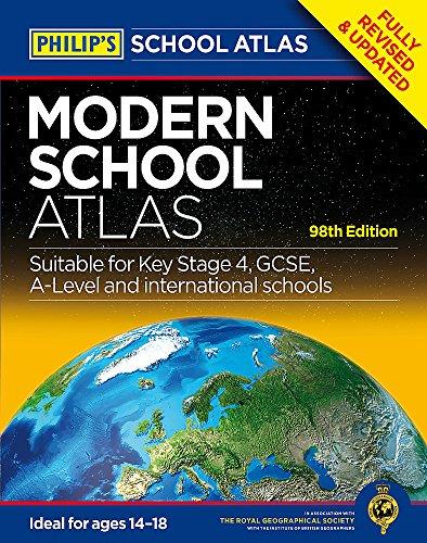 Philip's Modern School Atlas: 98th Edition (Philips Atlas)
