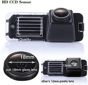 Navinio Auto Rückfahrkamera Einparkkamera Kamera Einparkhilfe Wasserdicht Für Vw New Beetle Phaeton Scirocco Golf Mk5 Seat
