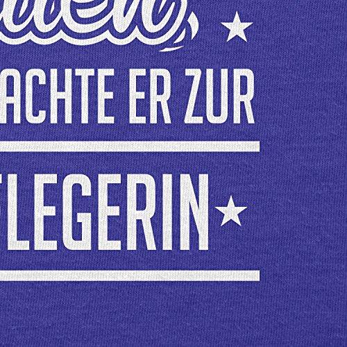 TEXLAB - Altenpflegerin - Herren Langarm T-Shirt Marine