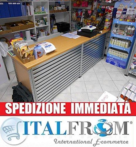 ITALFROM Bancone Vendita Completo Misure