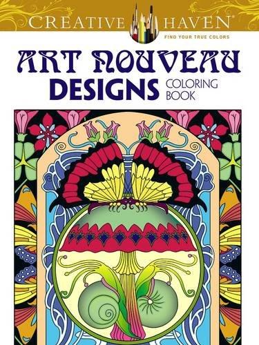 Colorist Collection (Creative Haven Art Nouveau Designs Collection Coloring Book (Creative Haven Coloring Books))