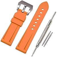 Vinband Cinturini Orologi Camuffare Orologi Bracciale in Caucciù - 20mm, 22mm, 24mm, 26mm Gomma Cinturino Orologio…