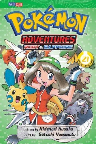 Pok¨¦mon Adventures, Vol. 21 (Pokemon) by Kusaka, Hidenori (2014) Paperback