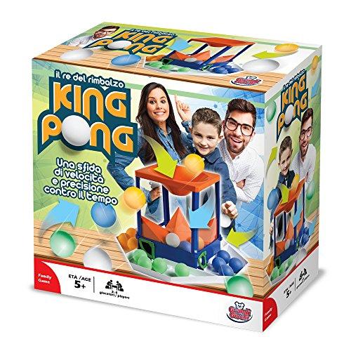 Grandi Giochi- King Pong, GG01310, Multicolore