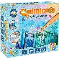 Cefa Toys Juego QUIMICEFA ¡con 120 EXPERIMENTOS, Multicolor (21840)