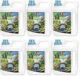 6x 2,5litros Compo Azul grano Novatec líquido universal abono Fertilizante, 8+ 8+ 6