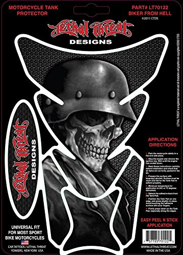 Lethal Threat Motorrad Tankpad LT70122 Biker from Hell