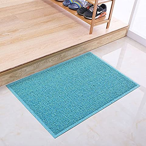 Anello di filo del colore per ottenere terreno/tappetino di plastica/ cuscinetto di polvere di filatura del/tappetini da bagno antiscivolo/tappetini auto nella Hall-F 58x88cm(23x35inch)