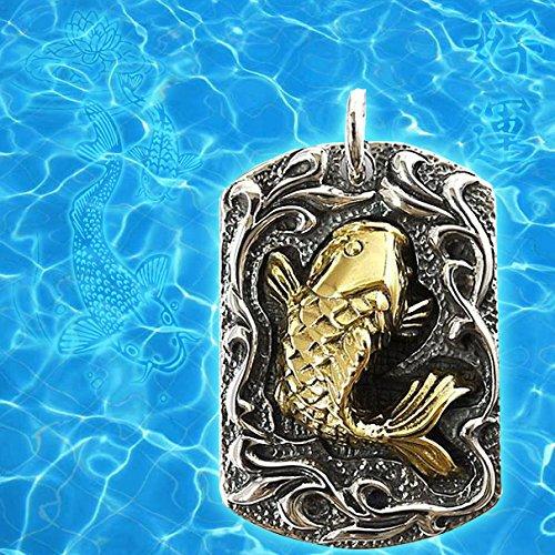 Amulettgoldfisch-JAPANER KOI KARPFEN GLÜCKLICHER FISCH (Glücklich Koi)