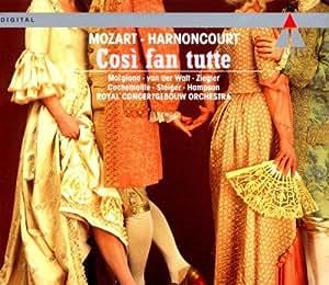 Mozart: Cosi fan tutte (Gesamtaufnahme) (ital.)