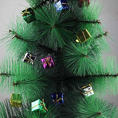 (Weihnachtsbaum Dekorationen, 12/viel Aufhängen Geschenk-Box favolook Colorful Exquisite Ornaments Xmas Tree Party Decor, 2 Lots)