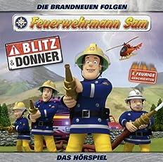 Feuerwehrmann Sam - Blitz und Donner (Teil 5) -HÖRSPIEL