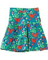 Toby Tiger Girls Squirrel Cord Skirt Dress