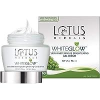 Lotus Herbals Whiteglow Skin Whitening And Brightening Gel Cream, SPF-25, 40g