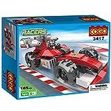 #3: Babytintin™ COGO Racers Formula F1 Truck Car Popular Toys Racing Model Car Building Bricks Blocks Toy for Children Boys 165 Pieces