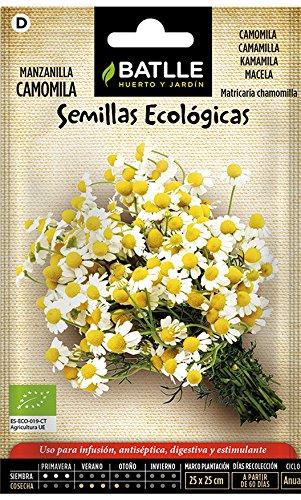 Semillas Ecológicas Aromáticas - Manzanilla Camomila - ECO - Batlle