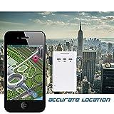 GPS Auto Tracker ACRATO GT300 Universal GPS Tracker Ortungssystem Zur Echtzeit-Ortung GSM Peilsender Personen und Fahrzeugortung GPS Sender Tragbar, Übertragung per SMS APP und Browser, Anruf Möglich - 4
