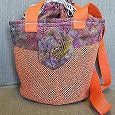 Tracolla Amazon Rose Handmade Batik it A Borsa 0THxq7A5