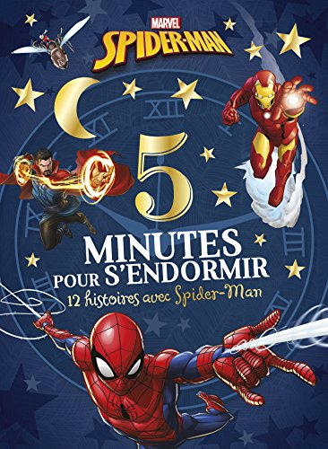 Spiderman, 5 minutes pour s'endormir : 12 histoires avec Spider-Man par From Hachette Jeunesse