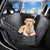 Dxcek Pet Cubierta de Asiento Impermeable para Perros de Coche de Protectores de Tapicería Antideslizante Accesorios para SUV Asiento Trasera