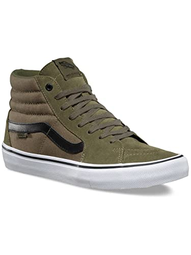 30a9e6c139 Vans Sk8-Hi Pro (Dakota Roche) Burnt Olive Black  Amazon.co.uk  Sports    Outdoors