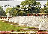 Grosse Brunnen und Wasserspiele in Düsseldorf (Wandkalender 2019 DIN A3 quer): Ausgewählte Düsseldorfer Brunnen und Wasserspiele im Querformat (Monatskalender, 14 Seiten ) (CALVENDO Orte) - Michael Jäger, Düsseldorf
