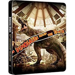Jurassic Collection - Steelbook (4 Blu-Ray) [audio español] [Italia] [Blu-ray]