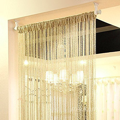 GB UNICORN Curtain Door Window Panel Room Decorative Divider Curtain Perfect as Fly Screen 90x200cm -
