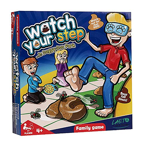 TOYLAND Guarda Il Tuo Passo ... Famiglia Gioco da Tavolo - Divertenti Giochi da Tavolo età 4+ 1 o più Giocatori