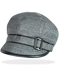Damen Mütze Ballonmütze Damenhut Schirmmütze - BM001